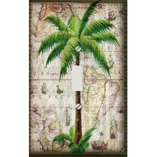 Classic Palm Tree Decorative Switchplate Cover